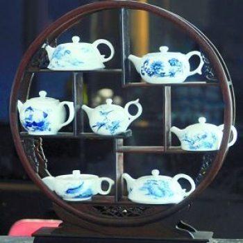 陶瓷茶具 掌中小壶