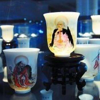 陶瓷茶具 十八罗汉