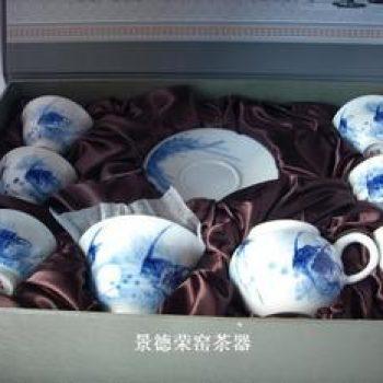 景德镇诚德轩神仙鱼茶具
