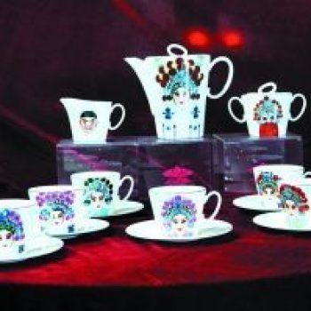陶瓷茶具 京剧脸谱