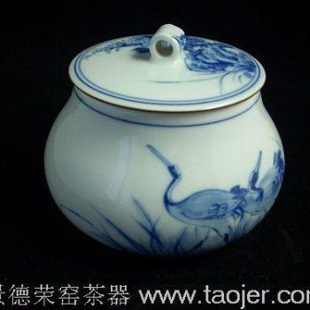 仙鹤茶叶罐