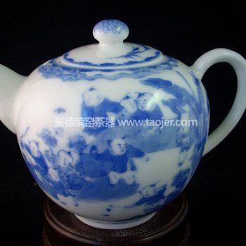小雅款童子戏春茶壶