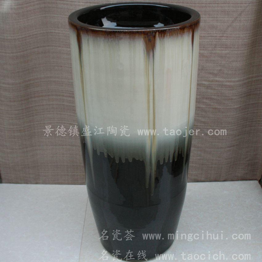 RYXW002景德镇 陶瓷颜色釉 一体式洗脸盆 家居工艺摆设