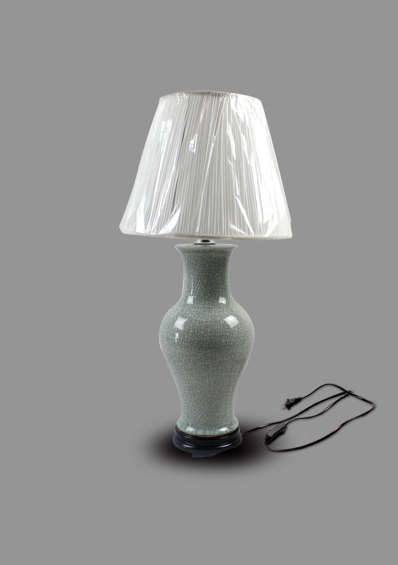 DSIF04景德镇 陶瓷 开片灯具 台灯 灯具 灯饰 家居摆设