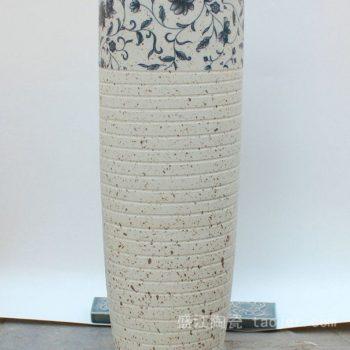 RYKY26景德镇 陶瓷 顶部碎缠枝米白 花插 陶艺 工艺摆设 举报