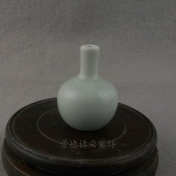 ZJBD21景德镇精品陶瓷 白釉 天球 鼻烟壶