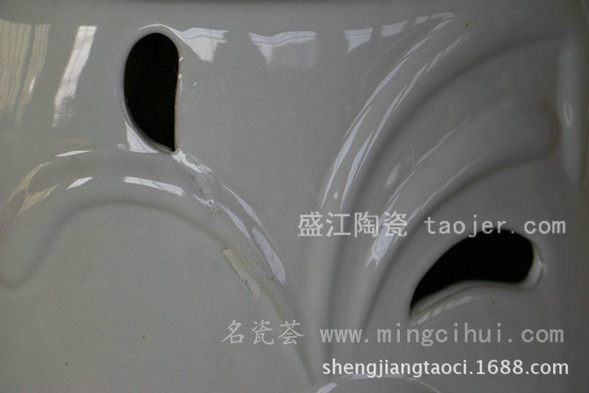 RYZS10景德镇 陶瓷 白色 瓷凳 凉墩 凳子 家居工艺
