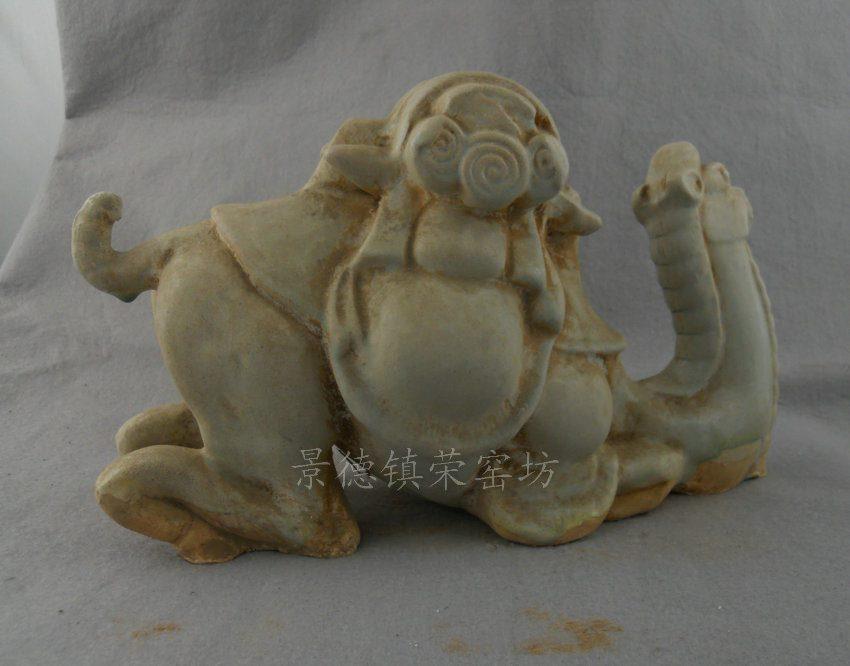 ZJUT02景德镇精品陶瓷颜色釉唐三彩骆驼