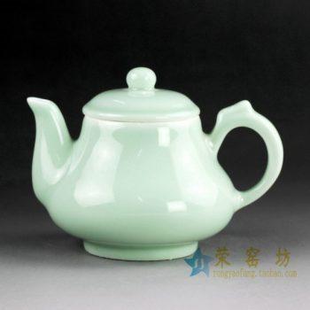 14CS43 手工颜色釉手柄茶壶 泡茶壶