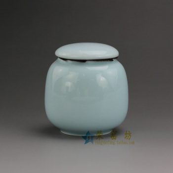RZDT05-B-03颜色釉茶叶罐 盖罐密封罐