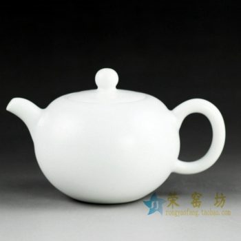 14FS15 颜色釉白色茶壶 泡茶壶