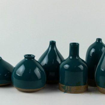 RZAN13 手工颜色釉花瓶花插