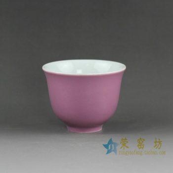 14EI08颜色釉绿色茶杯 品茗杯