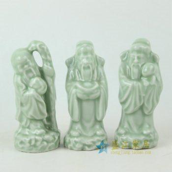 RYXP20手工雕塑福禄寿三星艺术摆件