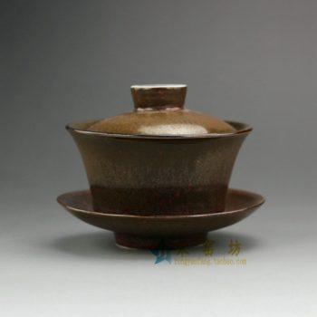 RZEM01 797花色釉盖碗 三才碗 泡茶杯