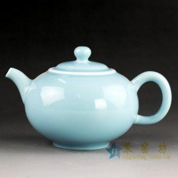 14CS43 手工颜色釉茶壶 泡茶壶