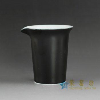 14QN24-B颜色釉亚光公道杯