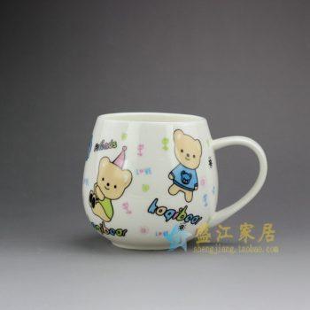 RYDY30-C 手绘卡通猫咪图茶杯 品茗杯 咖啡杯