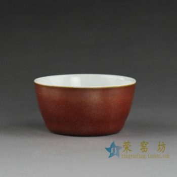 14CS38 手工颜色釉茶杯 品茗杯 功夫茶
