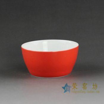 14CS38手工颜色釉茶杯 品茗杯 功夫茶具