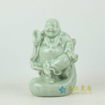 RYXP18手工雕塑弥勒佛艺术摆件