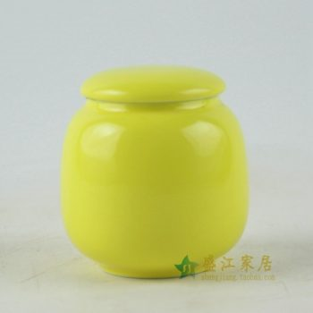 RZDT04 手工颜色釉茶叶罐 盖罐 密封罐