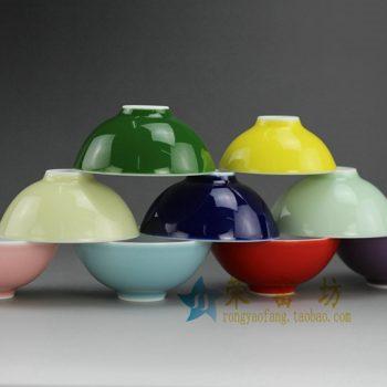 14CS112颜色釉茶杯 茶碗 功夫茶具 尺寸: 口径 7.3厘米 高3.4厘米 容量 40毫升