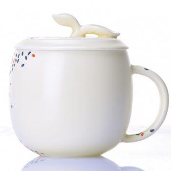 CBAB01-E-03七彩养生杯 高温颜色釉创意杯 品茗杯 尺寸:高 12cm 口径 8.5cm 容量 300ml
