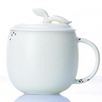 CBAB01-43七彩养生杯 创意高温颜色釉茶杯 品茗杯 尺寸:高 12cm 口径 8.5cm 容量 300ml