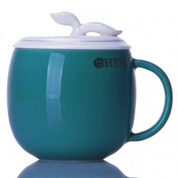 CBAB01-B-21七彩养生杯 创意高温颜色釉茶杯 品茗杯 尺寸:高 12cm 口径 8.5cm 容量 300ml