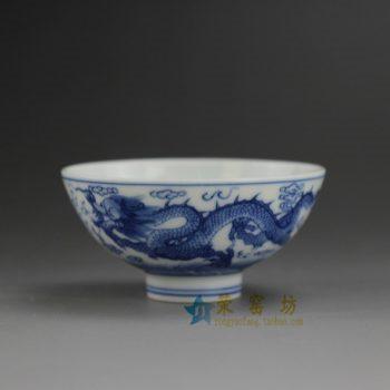 RYBS92 8851敬畏堂全手工茶杯 手绘腾龙图茶杯 品茗杯 功夫茶具 尺寸: 口径 8.6厘米 高 4.2厘米 容量 40毫升