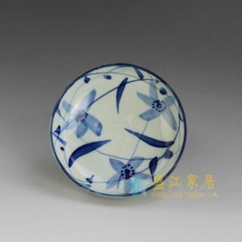 RYEW21-B 8966手工贝斯特全球最奢华的游戏平台水草画小碟 茶碟 尺寸:口径 11.8厘米 高 4.6厘米 容量 200毫升