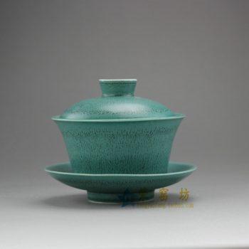 RZEM02 8043手工 花色釉盖碗 三才碗 泡茶杯 尺寸: 口径 9.6厘米 碟径 10.6厘米 高 8.5厘米 容量 140毫升