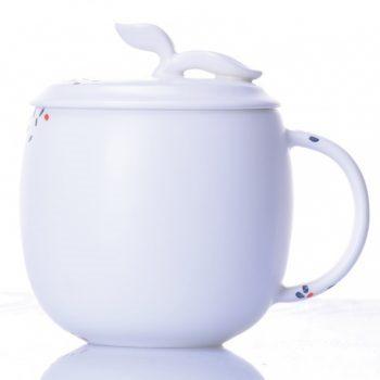 CBAB01-41七彩养生杯 创意高温颜色釉茶杯 品茗杯 尺寸:高 12cm 口径 8.5cm 容量 300ml