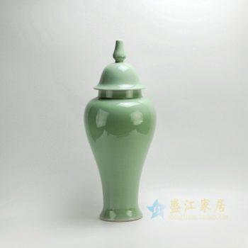 RYKB112-B 2426颜色釉 将军罐 储物罐 盖罐 尺寸:口径 12 厘米 肚径 24 厘米 高 50 厘米