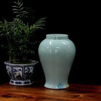 RYNQ172 2307颜色釉花瓶 花插 工艺装饰摆件 尺寸:口径 15.8厘米 肚径 27.3厘米 高 38.2厘米