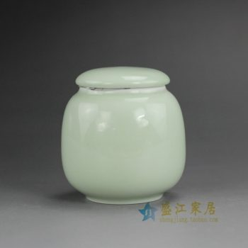 RZDT05-D 高温颜色釉茶叶罐 小瓷罐 密封罐 尺寸:口径 4.2厘米 肚径 6.5厘米 高 7厘米