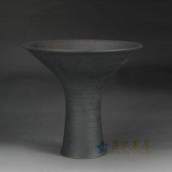 RZFZ-B-01 手工陶艺  高脚碟子