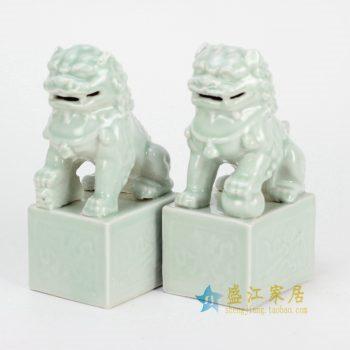 RYXP02-e  影清雕塑狮子 摆件