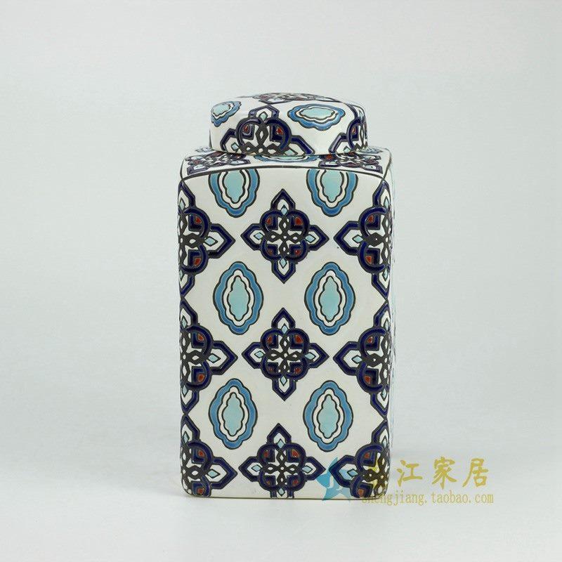RYPU29 粉彩将军罐