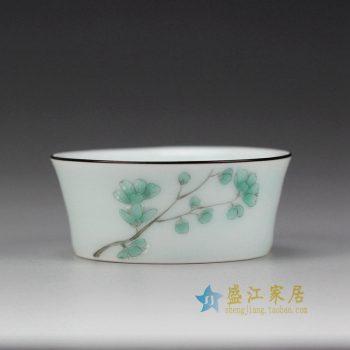 RYOK85_景德镇陶瓷 手绘粉彩 单杯 茶具