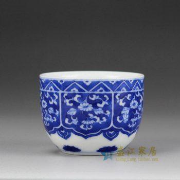 5149-14UR33 景德镇 青花小单杯水杯茶杯 厂家直销