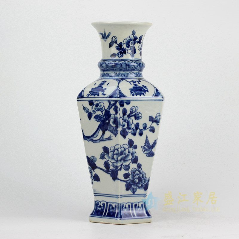 RYUK27 青花花瓶