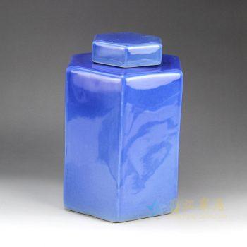 RYNQ179-E  颜色釉储物罐