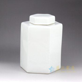 RYNQ179-D  白色将军罐