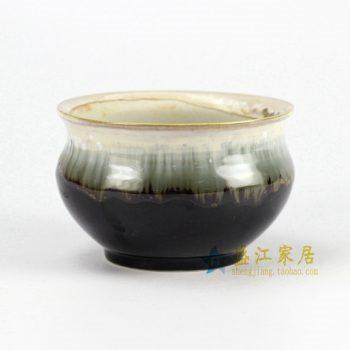 RYYF28-D陶艺 小花盆