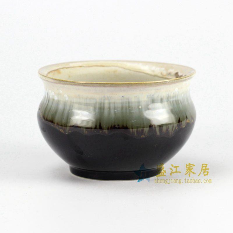 RYYF28-D 高温颜色釉 小花盆