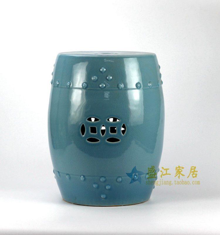RYYV01-B 颜色釉凳子