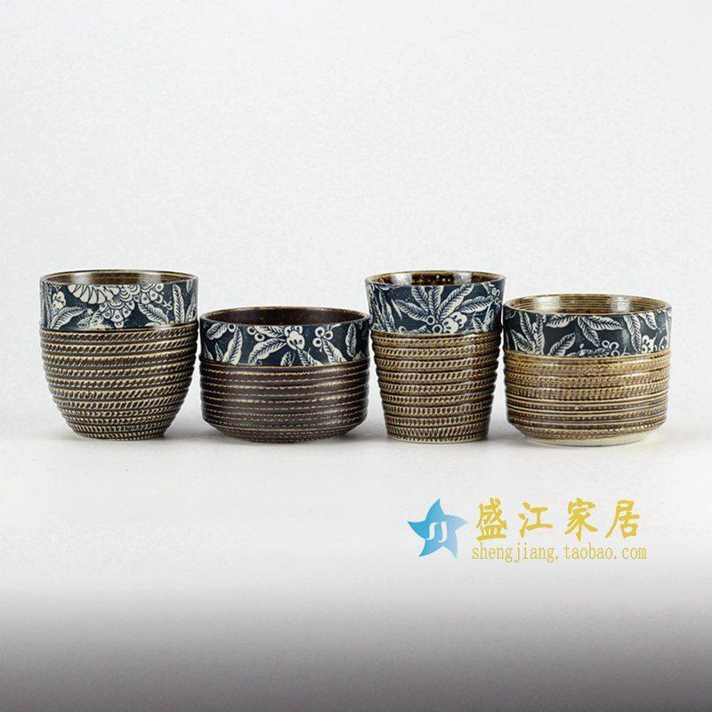 RZEN01-B 陶艺茶杯