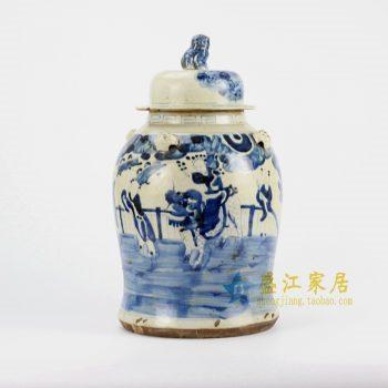 RZEY12-C 青花罐子